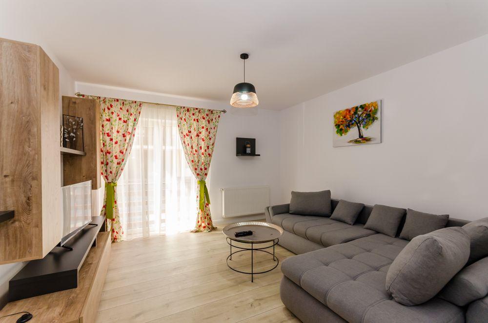 Apartament 2 camere, nou, parter inalt, parcare, Calea Poplacii