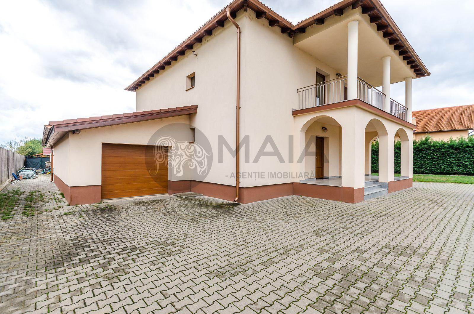 Casa P+1, constructie 2015, 4 camere, 300mp utili, 3 terase, Selimbar