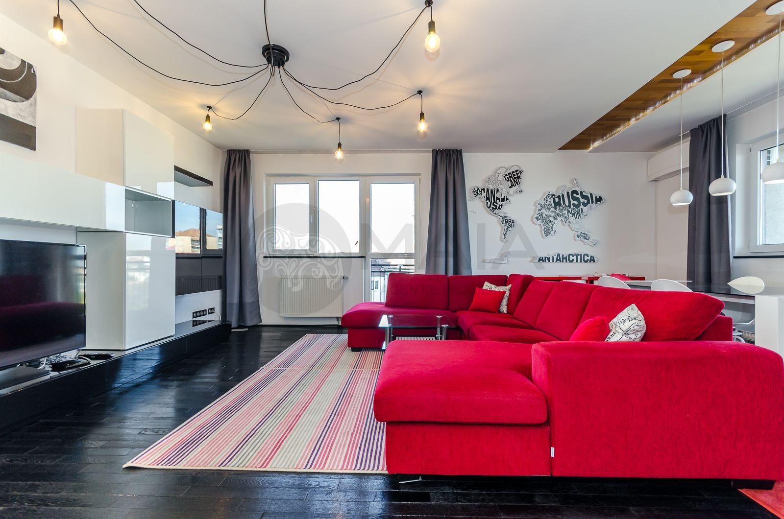 Apartament 4 camere, 2 bai, bloc nou, lift, zona Piata Rahovei