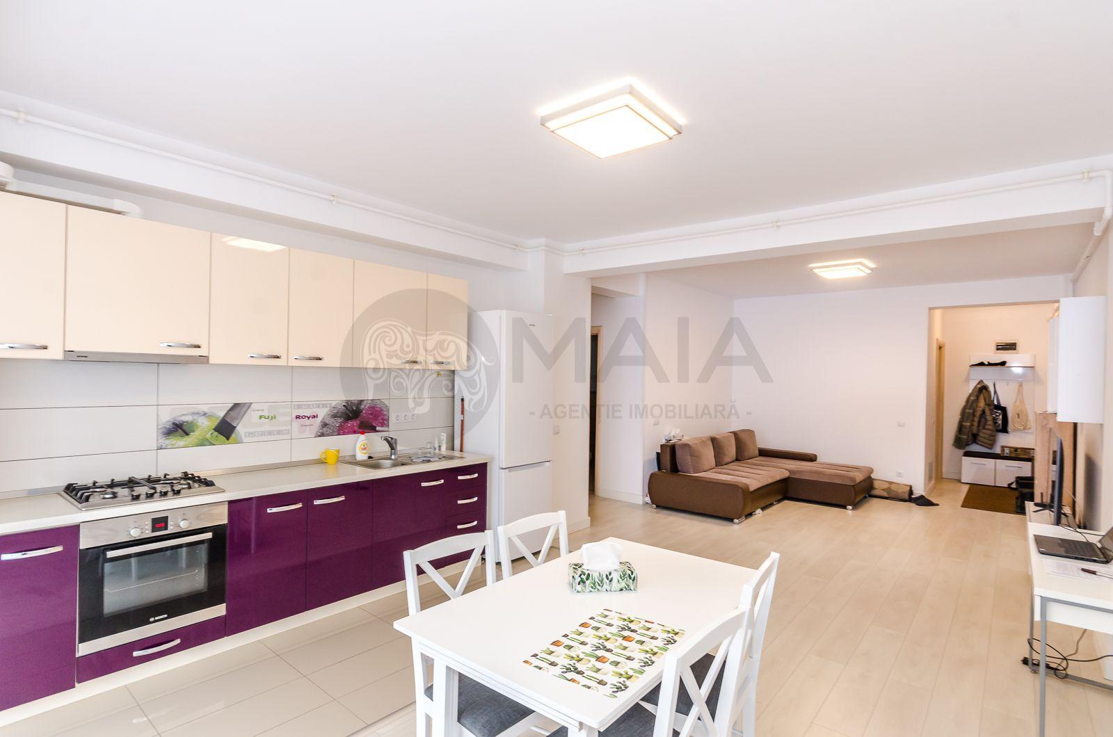 Apartament 3 camere, 2 bai, modern, lift, bloc nou, parcul Sub Arini