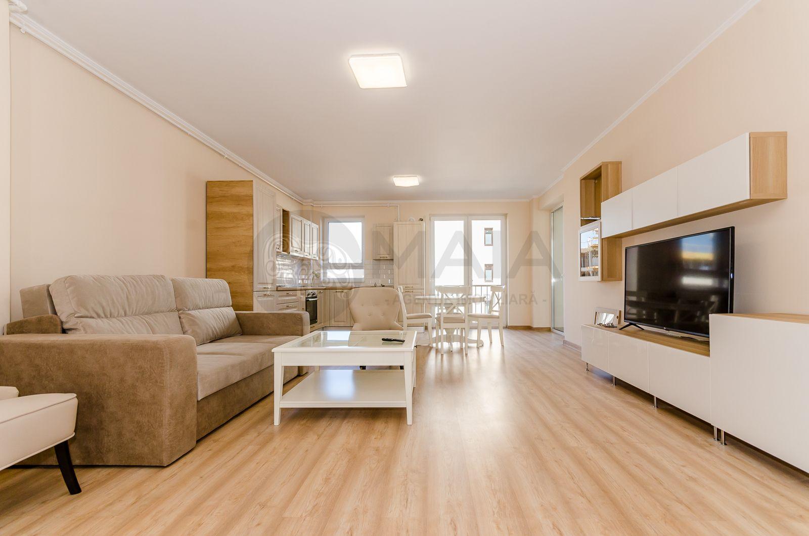 Apartament 3 camere, TOTUL NOU, prima inchiriere, parcare, Central